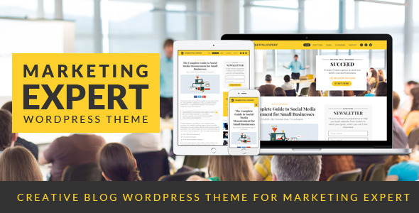 ThemeForest Expert Blog Wordpress Theme for Marketer 11469710