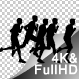 Marathon Silhouettes - VideoHive Item for Sale