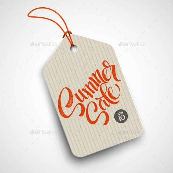 GraphicRiver Summer Sale Grunge Label Vector Illustration 11469856