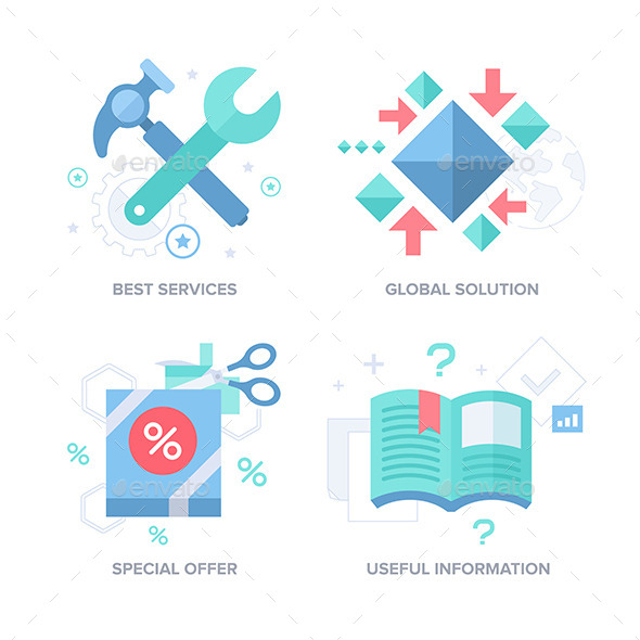 GraphicRiver Business Offer Abstract Features Concepts 11469871