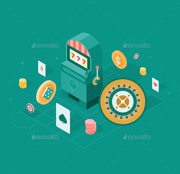 GraphicRiver Casino Concept 11469909