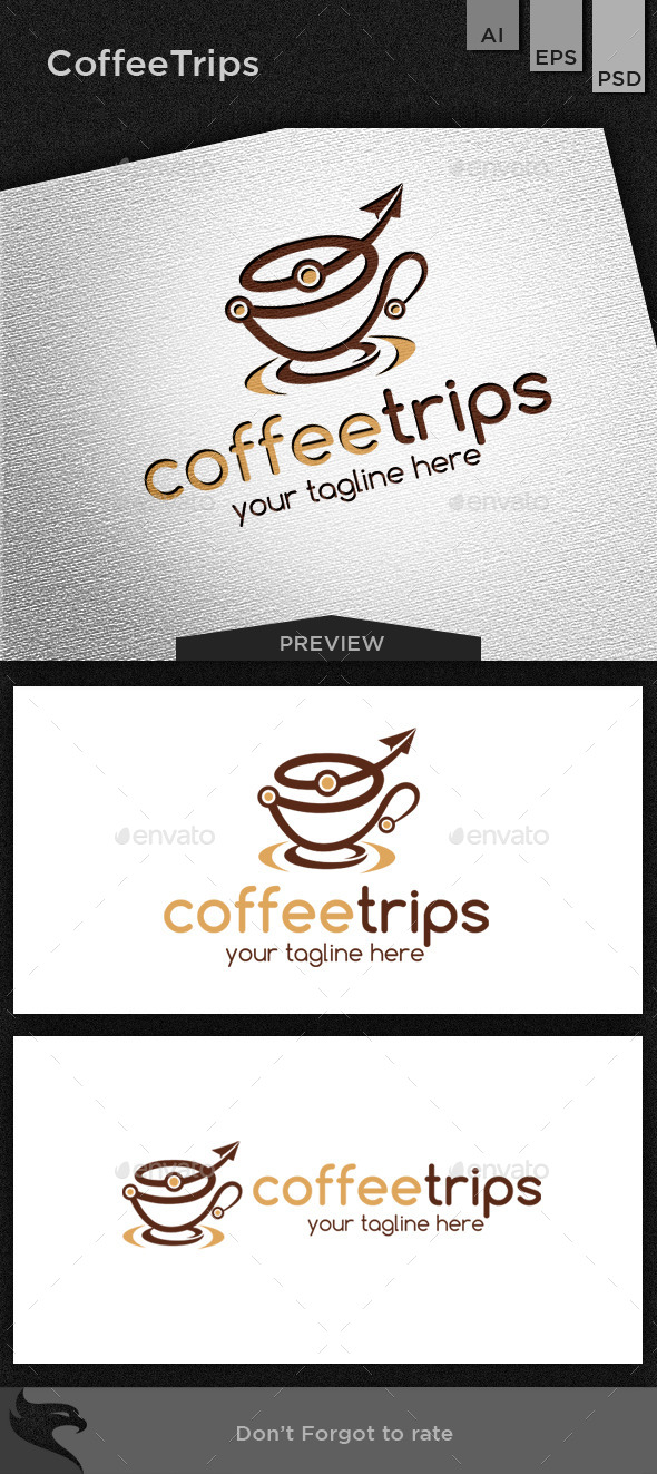 GraphicRiver Coffee trips 11469938
