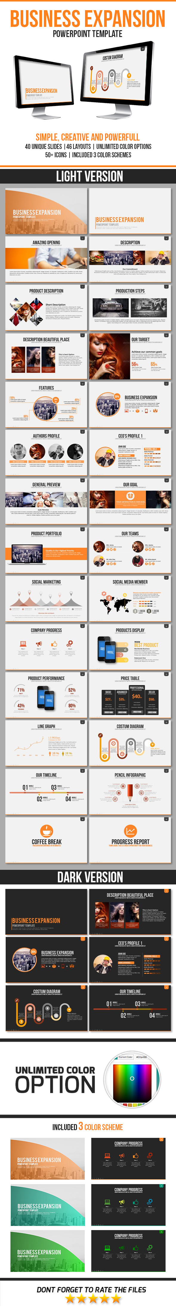 GraphicRiver Business Expansion PowerPoint Template 11469964