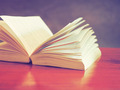open book in vintage light tone color - PhotoDune Item for Sale