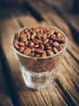 coffee bean on the cups vintage color tone - PhotoDune Item for Sale