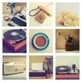vintage radio in vintage color tone - PhotoDune Item for Sale
