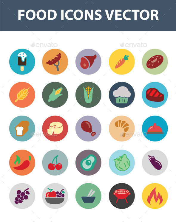 GraphicRiver Food Icon Vector 11470635