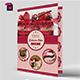 BiFold Cake Menu Template - GraphicRiver Item for Sale