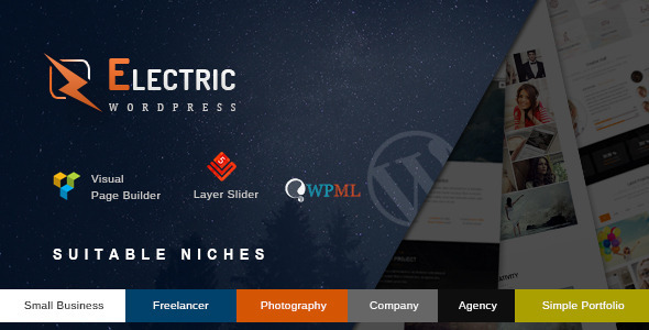 ThemeForest Electric The Premium Wordpress Theme 11470762