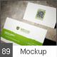 Photorealistic Business Card Mock-Up - GraphicRiver Item for Sale