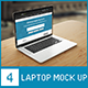 Laptop Screen Mock up  - GraphicRiver Item for Sale