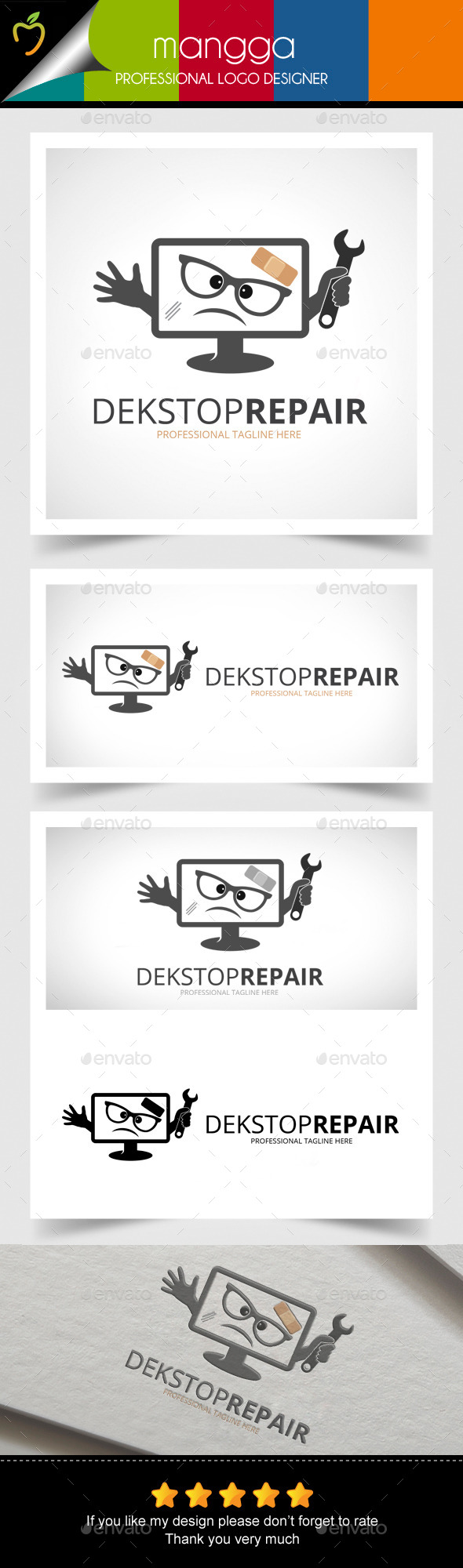 GraphicRiver Desktop Repair Logo 11471044