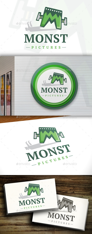 GraphicRiver Media Monster Logo 11471220