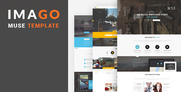 ThemeForest Imago Multipurpose Muse Template 11471364