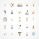 Vector Science Web Icons - GraphicRiver Item for Sale