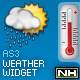 AS3 Weather Widget - ActiveDen Item for Sale