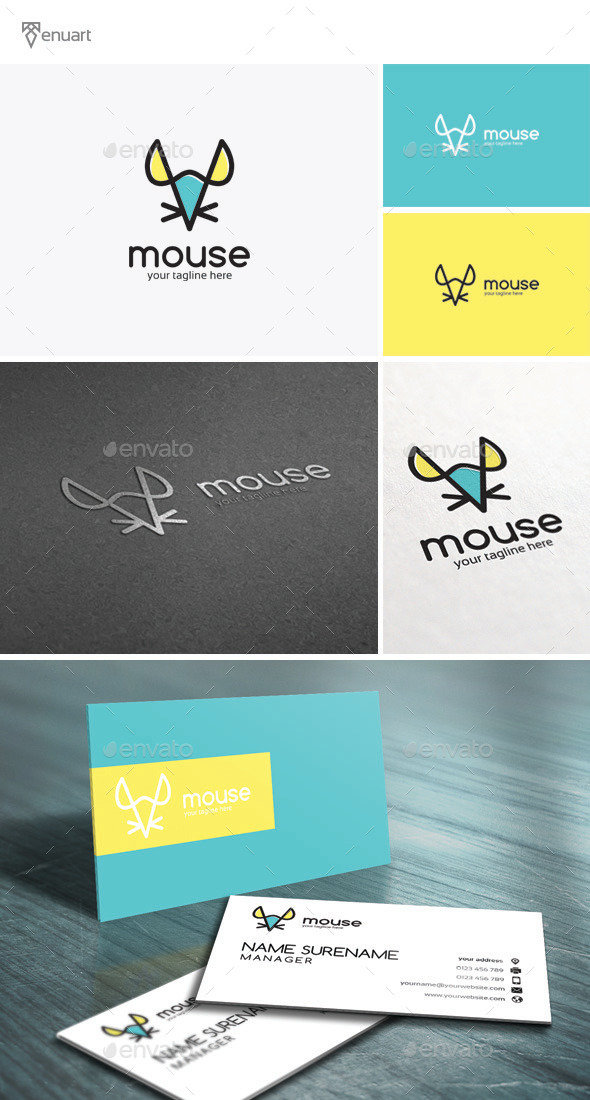 GraphicRiver Mouse Logo 11473386