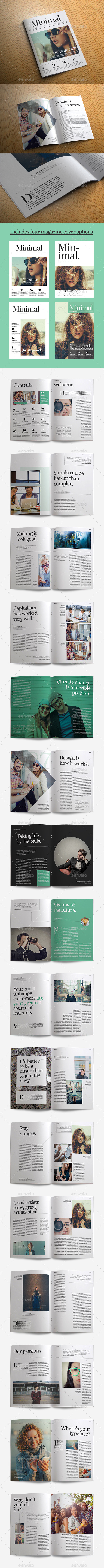 GraphicRiver Minimal Magazine 11473451