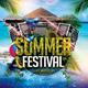 Summer Festival Flyer + Facebook Timeline Cover - GraphicRiver Item for Sale