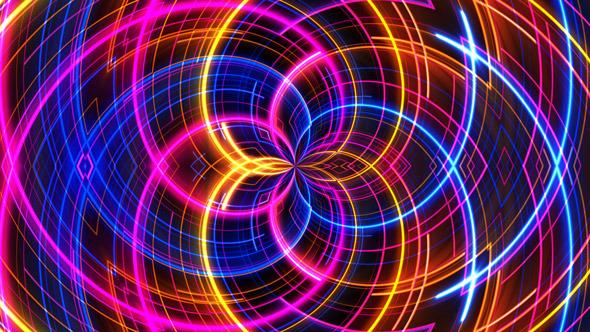 Spiral Light Background