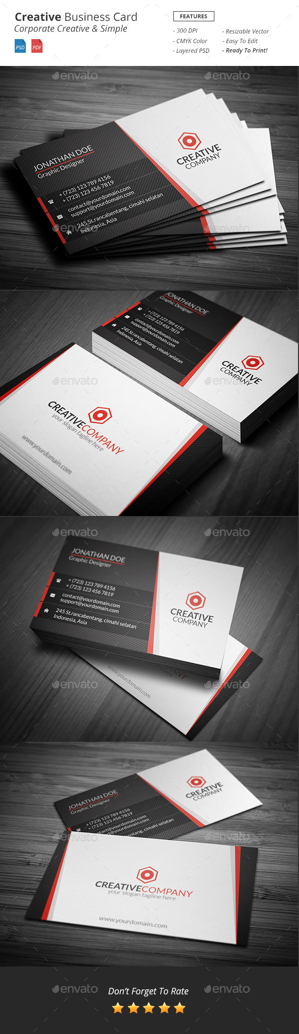 GraphicRiver Creative Business Card 11473970