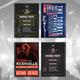 Indie Rock Flyers Mega Bundle - GraphicRiver Item for Sale