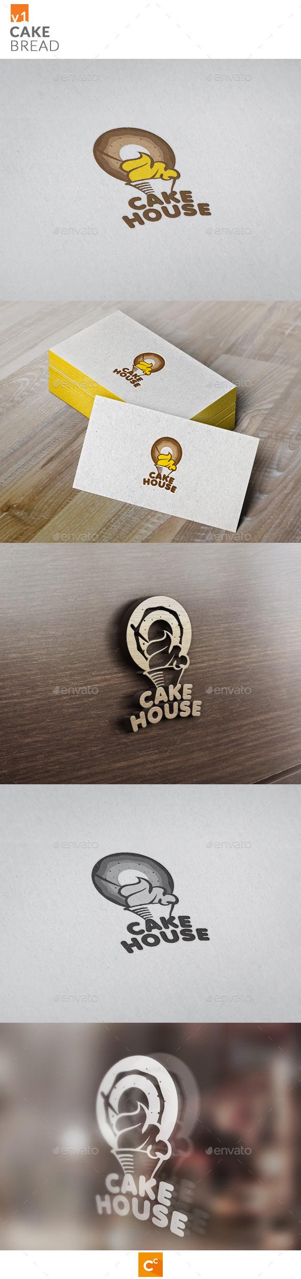 GraphicRiver Cake & Bread 11474107