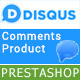 Responsive Disqus System Comments Product and Animation Tab Comment Store
