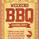 BBQ Barbecue Flyer - GraphicRiver Item for Sale