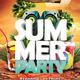 Summer Party Flyer + Facebook Timeline Cover - GraphicRiver Item for Sale