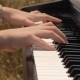 Girl Playing Piano - VideoHive Item for Sale