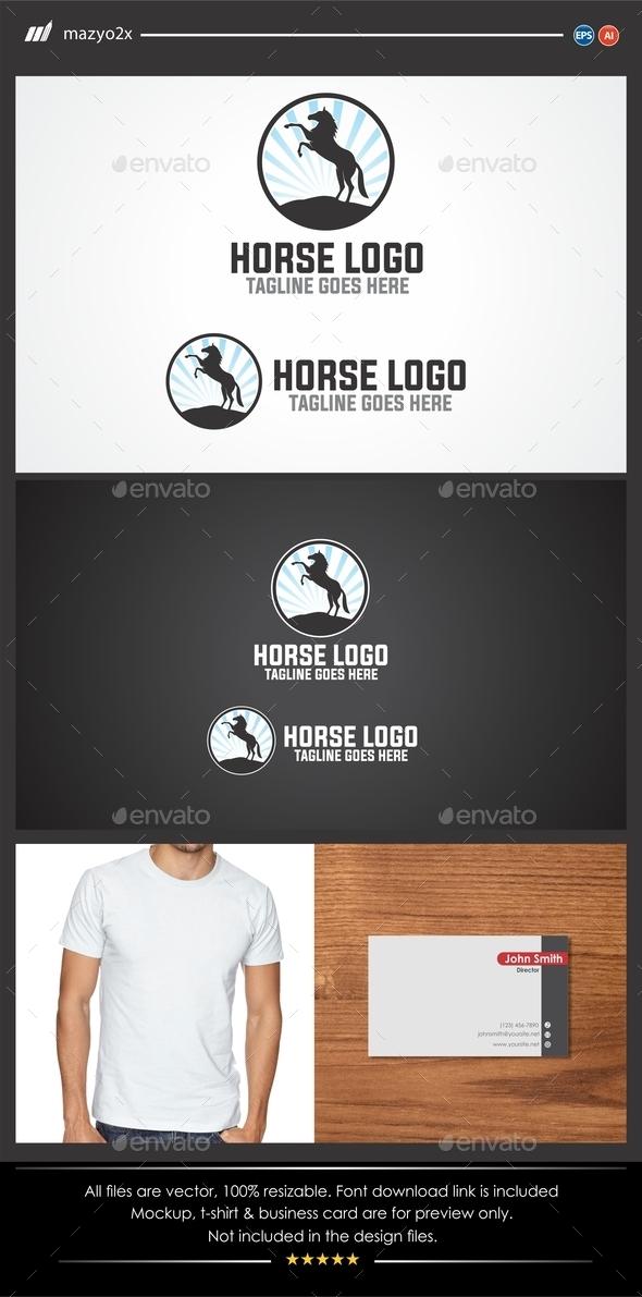 GraphicRiver Horse Logo 11474600