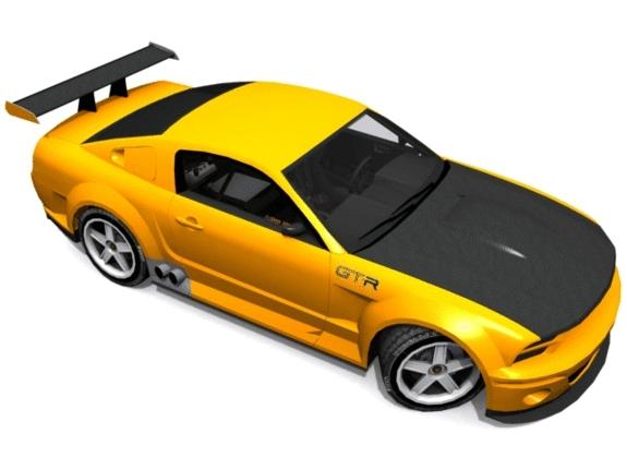 3DOcean Ford Mustang GT-R 1151918