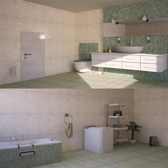 3DOcean interior bathroom 11474891
