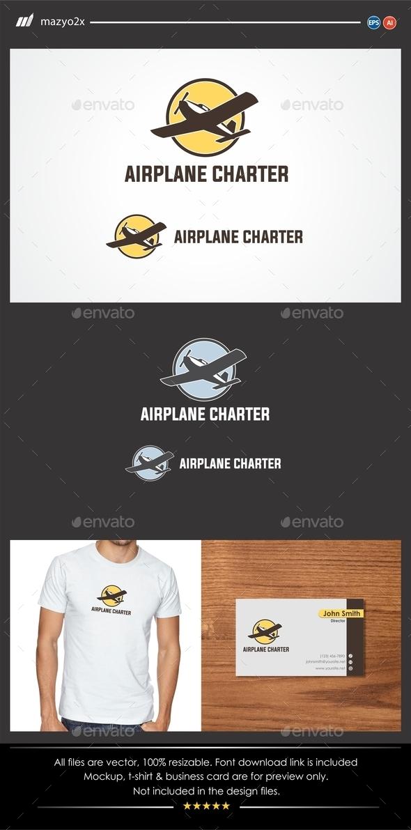 GraphicRiver Airplane Logo 11475128