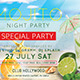 Mojito Night Part Flyer Template - GraphicRiver Item for Sale