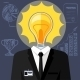 Bulb Headed Man - GraphicRiver Item for Sale