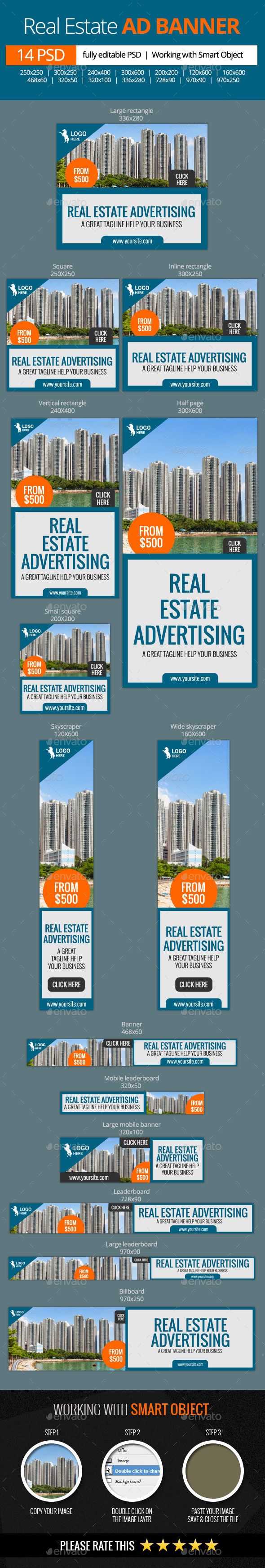 GraphicRiver Real Estate Advertising Web Banners 11475558