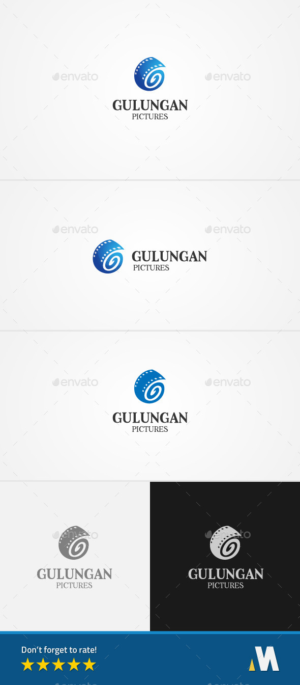 GraphicRiver Good Film Letter G 11475640