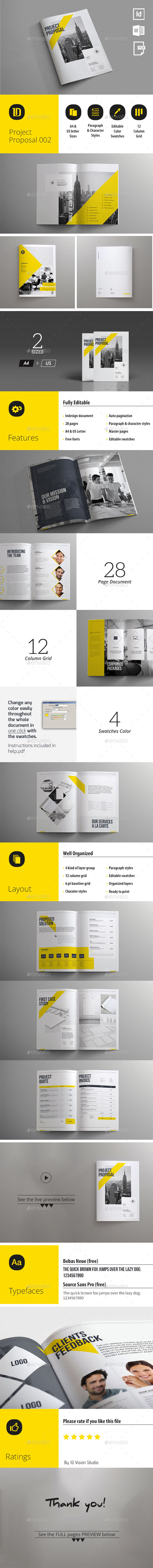 GraphicRiver Project Proposal Template 003 11476049
