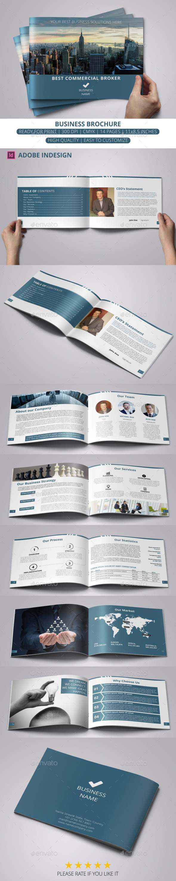 GraphicRiver Business Brochure 11413062