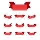 Ribbon Simple Style Retro Art Set - GraphicRiver Item for Sale