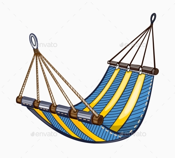 GraphicRiver Illustration Of Painted Hammock 11476370