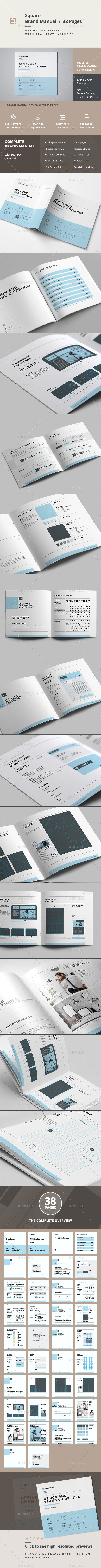 GraphicRiver Brand Manual 11423681