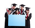 group of graduates student think - PhotoDune Item for Sale
