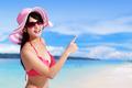 Summer and Happy bikini girl - PhotoDune Item for Sale