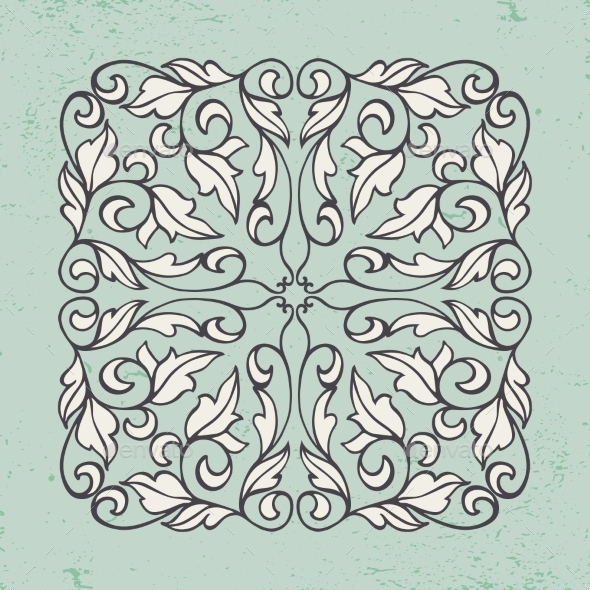 GraphicRiver Vintage Pattern 11476783