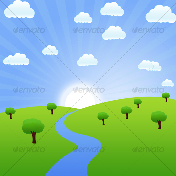 Landscape View #2 - Nature Backgrounds