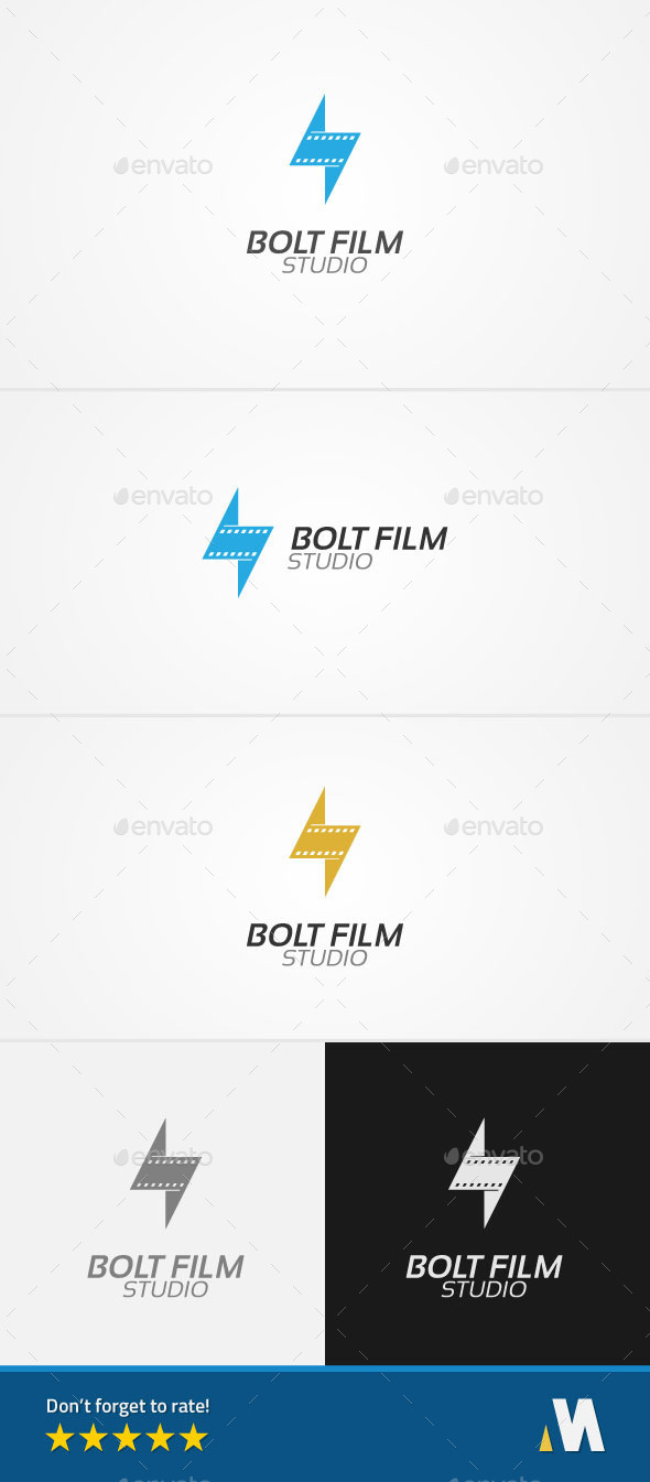 GraphicRiver Bolt Film or Lightning Movie Studio 11476830