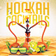 Hookah Cocktails | Summer Party PSD Flyer Template - GraphicRiver Item for Sale